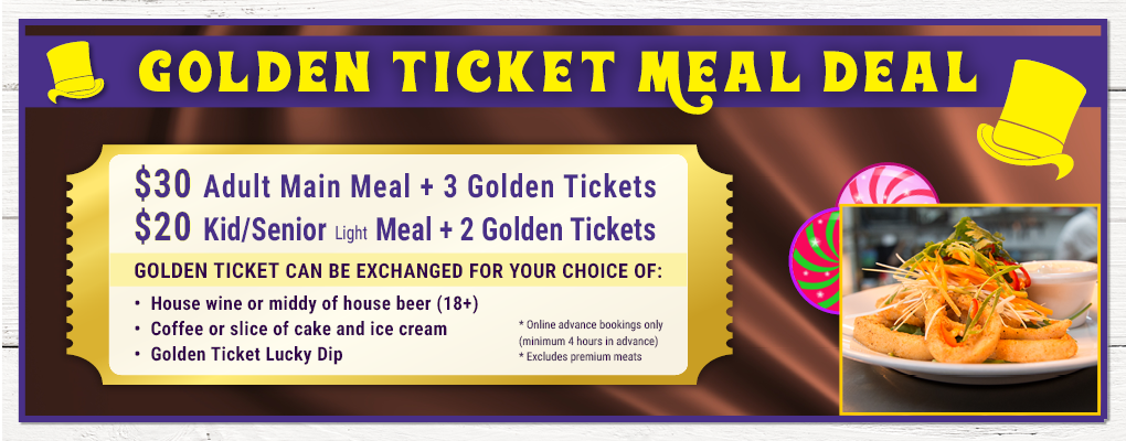 Capitol Theatre: Charlie & Chocolate Factory Meal Deal