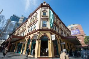 Palace Hotel Sydney CBD Exterior